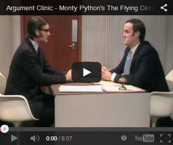 Monty Python - Argument Clinic Thumbnail