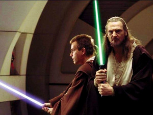 Obi Wan and Qui Gon Jin