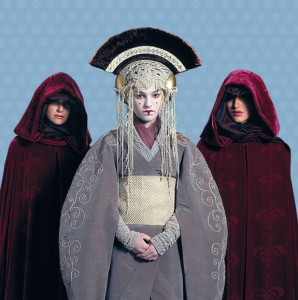 Queen Amidala and her Consorts