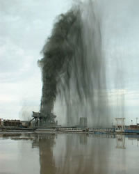 Oil Rig Blowout