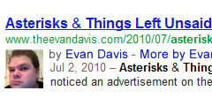 Evan Davis Authorship