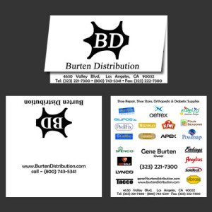 Burten Distribution Business Card