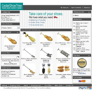 CedarShoeTree.com