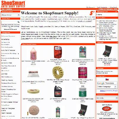 ShopSmartSupply.com - Old OSCommerce Site