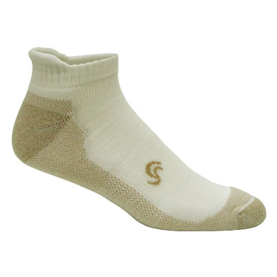 Sock with invisible foot.