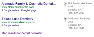 Google Organic Local Block Search Result