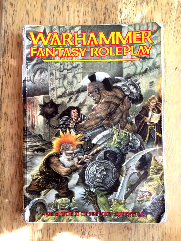 Warhammer Fantasy Roleplay - Rulebook